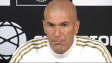 """Zidane: """"Bale no quiso cambiarse porque el club estaba tratando su salida"""""""