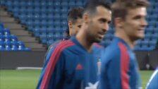 La Selección se entrena para ultimar su partido contra Noruega