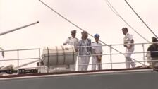 La reina Sofía se une al rey Juan Carlos en las regatas de Sanxenxo