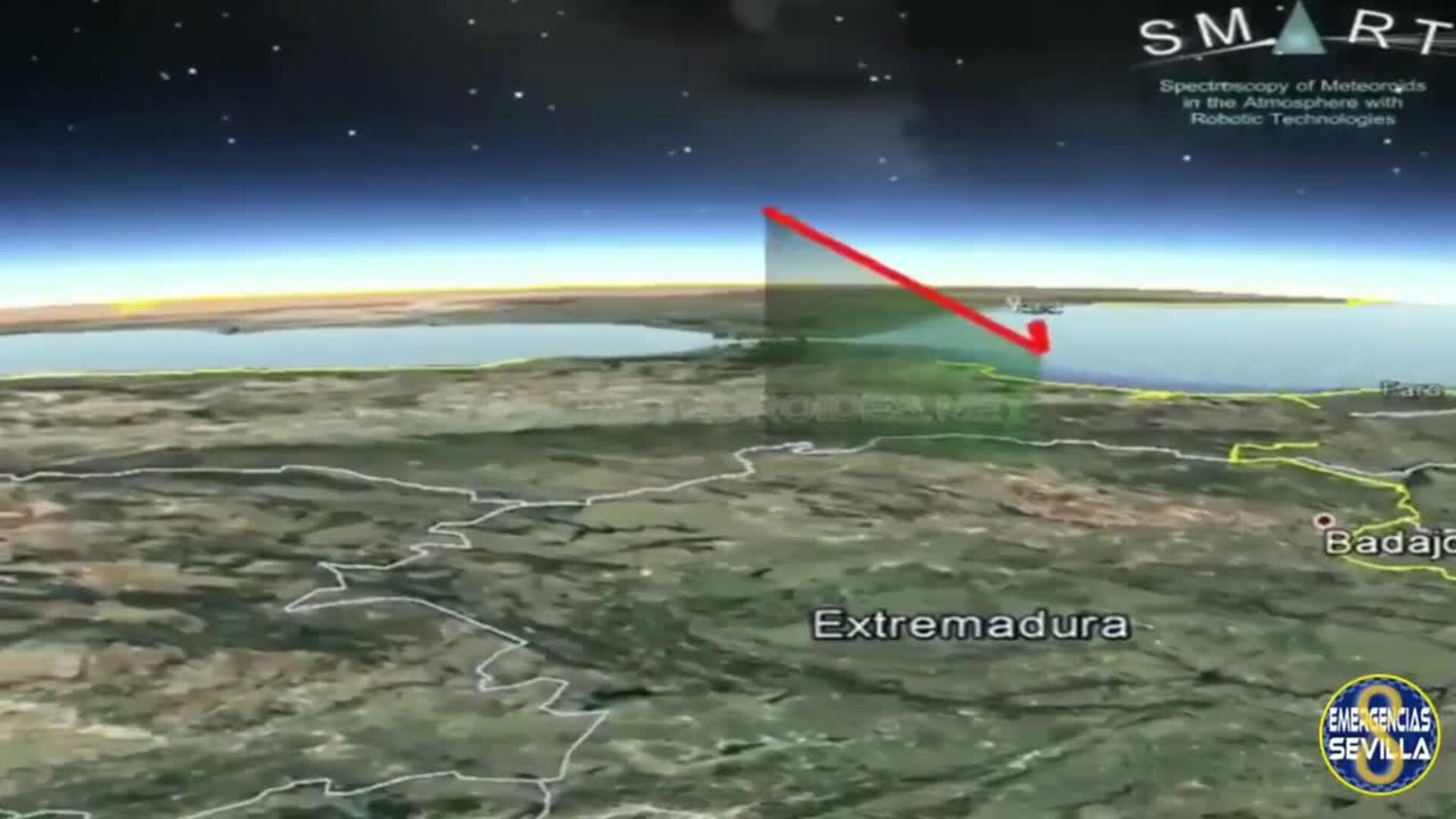 Una gran bola de fuego se ha podido avistar desde Andalucía