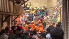 Al menos 10 personas han muerto al derrumbarse un edificio en Bombai