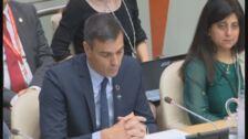 Sánchez defiende los beneficios de la cobertura sanitaria universal