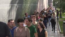 Visitantes acuden gratis al Museo del Prado por la Fiesta Nacional