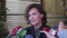 Calvo pide lealtad a Casado con el Gobierno