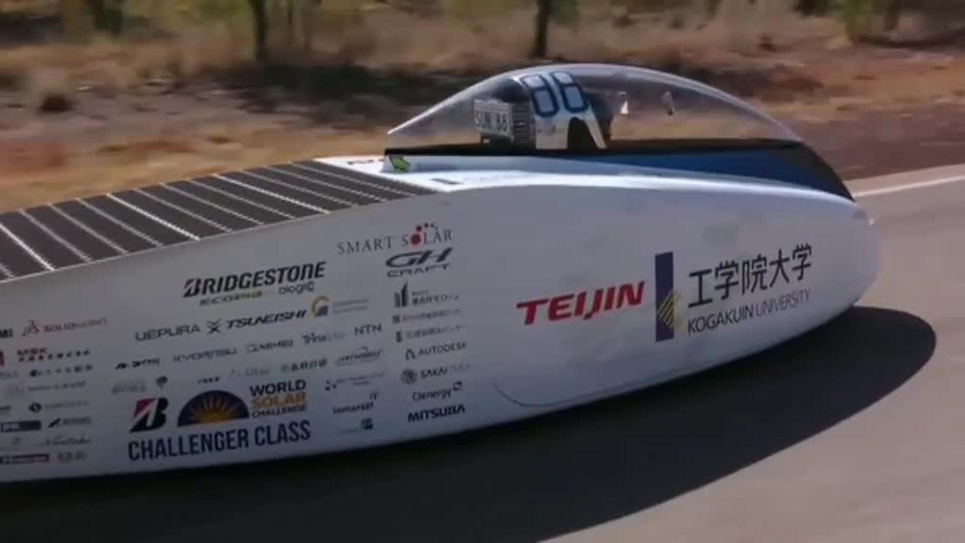 Los vehículos solares más espectaculares