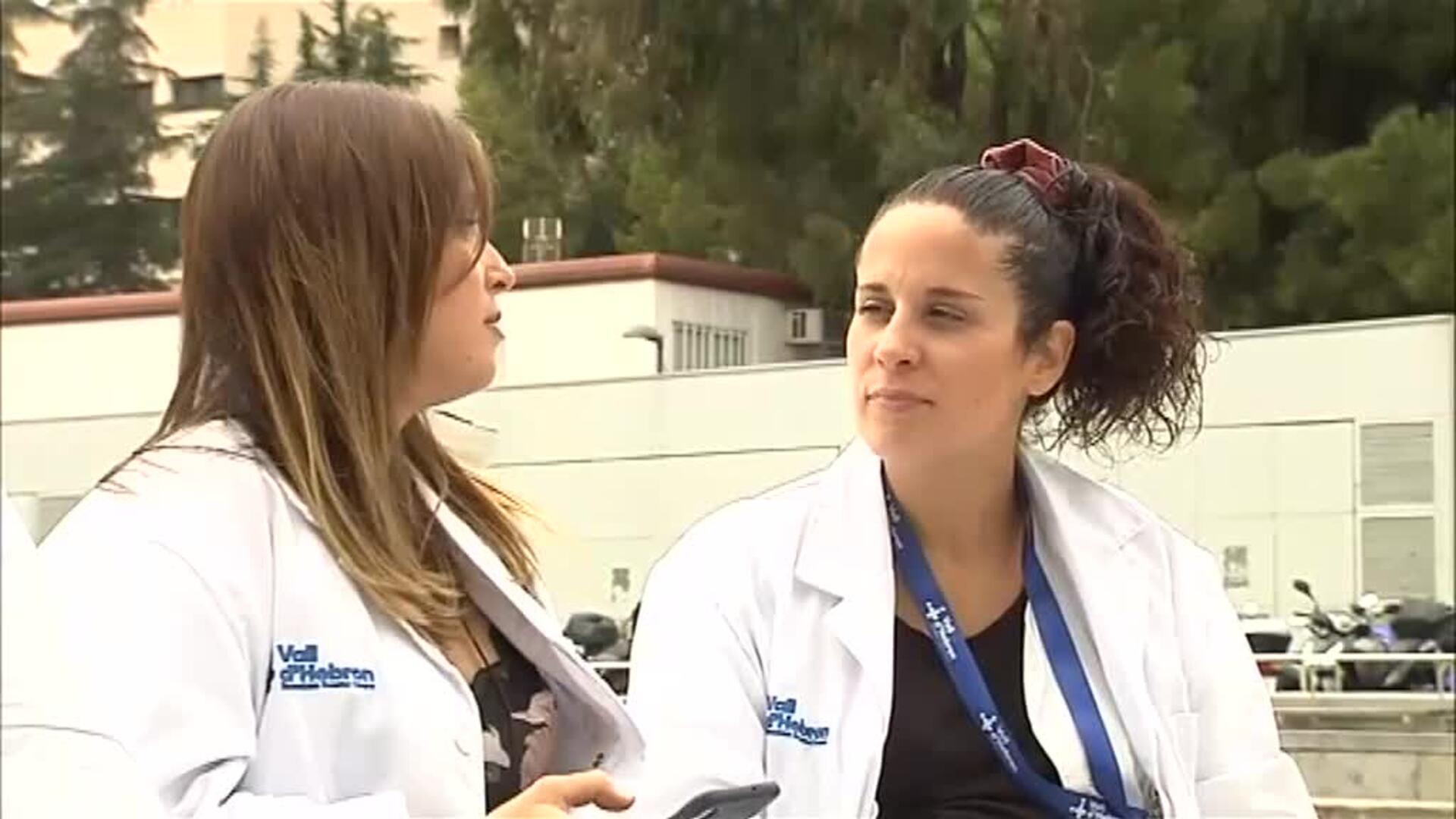 'Epidemia' de embarazos en el Vall d'Hebrón