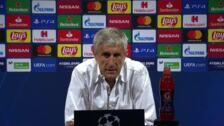 """Setién: """"Tenemos al mejor del mundo, pero Lewandowski lleva 13 goles en Champions"""""""