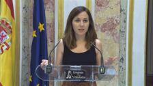 """Ione Belarra: """"Hemos votado abstención como un gesto para seguir facilitando las negociaciones"""""""