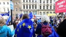 Miles de londinenses exigen en la calle un nuevo referéndum para acabar con el Brexit