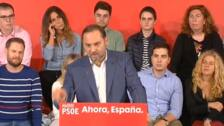"""Ábalos: """"Solo hay destrucción cuando el tsunami atraviesa Barcelona"""""""