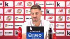"""Yeray Álvarez: """"Soy muy afortunado"""""""