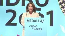 """Ana Botella, Medalla de Honor, asegura que dejó un Ayuntamiento """"más preparado"""""""