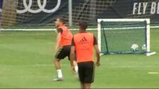 Zidane vuelve a dirigir los entrenamientos del Real Madrid