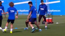 El Barça vuelve al trabajo tras la derrota en Los Cármenes