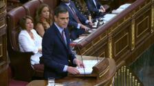 Los seis puntos del discurso de investidura de Pedro Sánchez