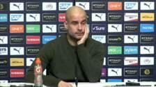 Guardiola desmiente que haya una cláusula que le permita abandonar libre el Manchester City