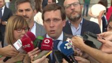 """Almeida sobre asesinato Madrid: """"Conviene no hacer un uso partidista"""""""