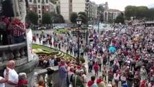 """Pensionistas vascos: """"no hay razones políticas para abandonar a la gente"""""""