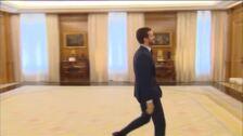 Pablo Casado se reúne con el Rey Felipe VI