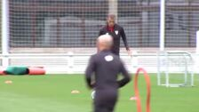 El Athletic de Bilbao continúa con los duros entrenamientos