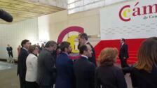 Felipe VI preside pleno extraordinario de la Cámara de Comercio