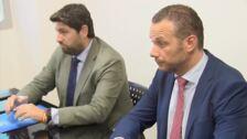 López Miras será investido presidente de la Región de Murcia