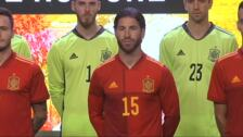 La selección española presenta su nueva camiseta