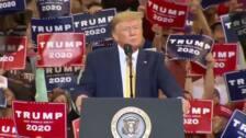 """Trump: """"No pueden ganar las elecciones así que se inventan un 'impeachment' de mierda"""""""