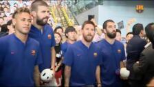 """Piqué: """"Con Leo es con quien mejor me llevo, no hay ningún tipo de descoordinación"""""""