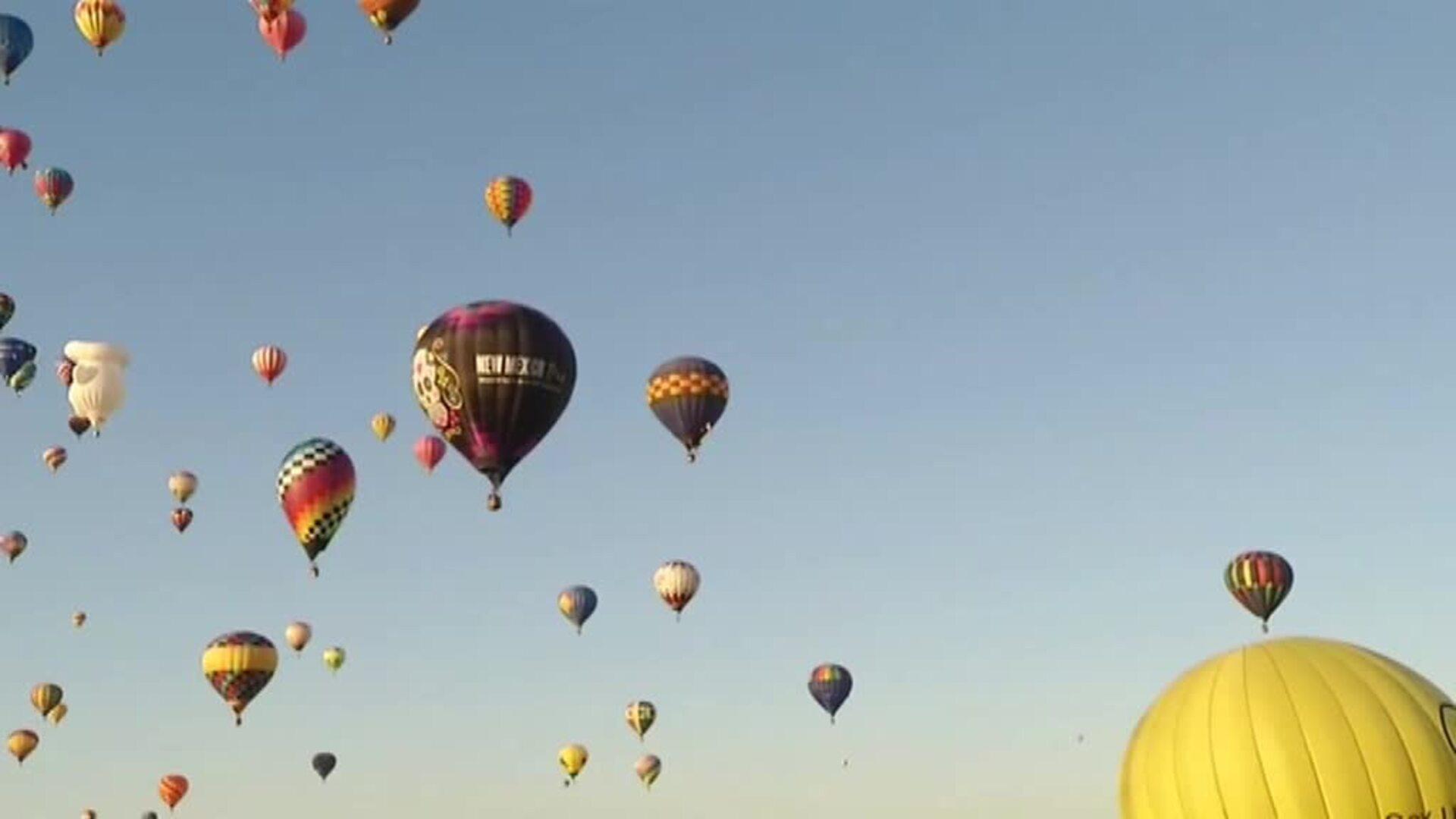 Festival internacional de globos en Nuevo México