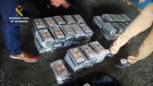 Interceptados 127 kilos de droga en una carretera de Murcia