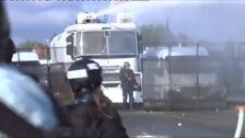 Casi 70 detenidos en las protestas contra la cumbre del G7