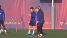 El Barça se prepara para su próximo partido de Liga contra el Valencia