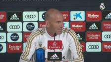 """Zidane, sobre el clásico: """"Estaremos preparados para jugar en la fecha que nos digan"""""""
