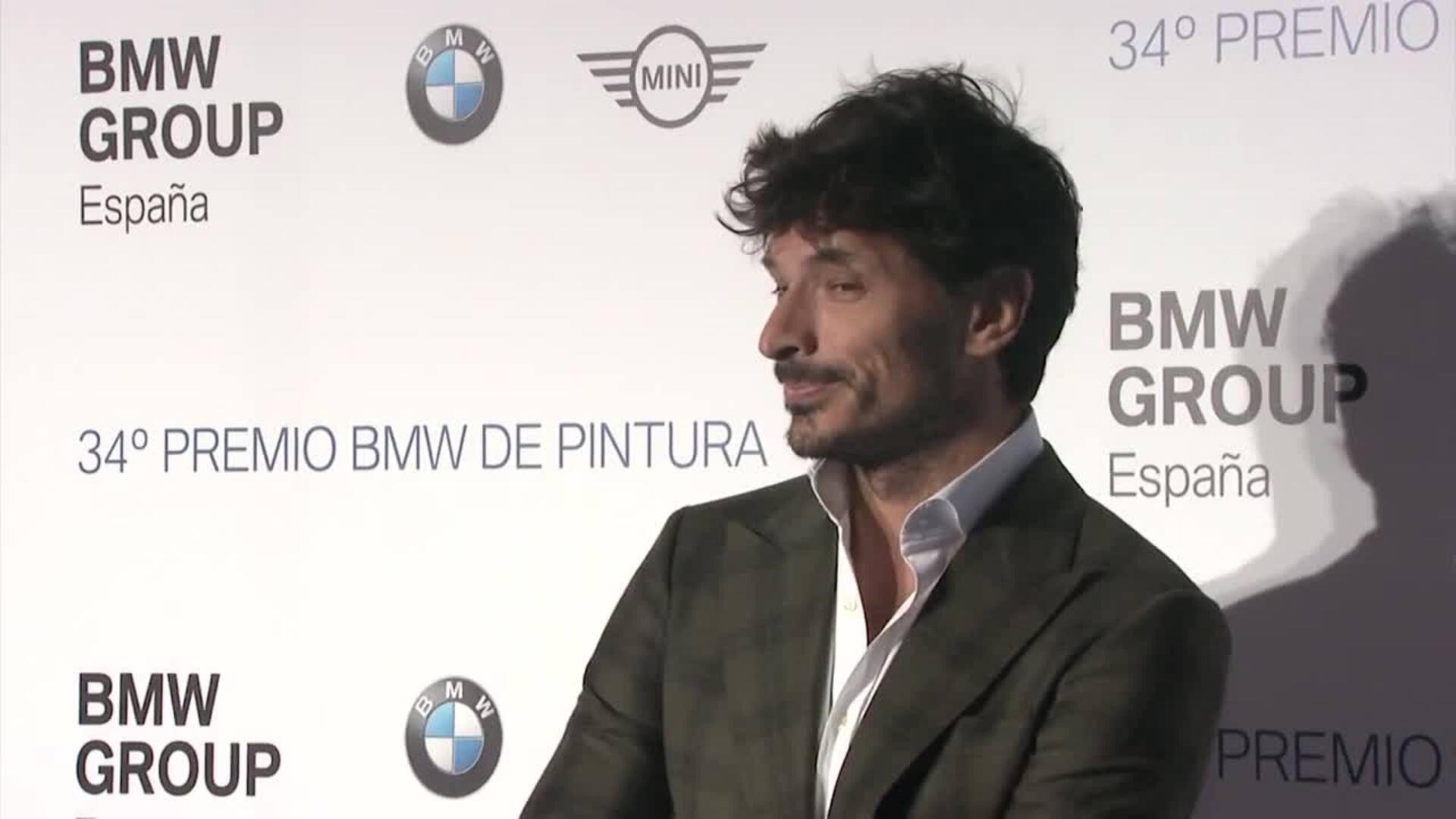 SM la Reina Sofía preside la 34 edición de los Premios BMW de la Pintura en el Teatro Real