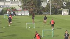 Se incorporan algunos internacionales al entrenamiento del Real Madrid
