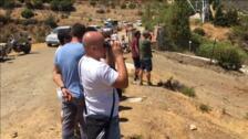 El incendio de Estepona obliga a desalojar a 50 personas