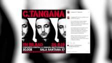 C. Tangana actuará gratis este sábado en Bilbao