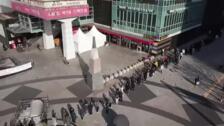 Saltan las alarmas en Corea del Sur por los nuevos contagios de coronavirus