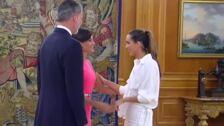 Los Reyes reciben a la nadadora Ona Carbonell