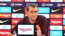 """Valverde: """"Sé que en el sitio en el que estoy mandan los resultados"""""""