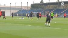 El Real Madrid recupera a todos sus internacionales