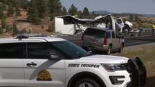 Mueren cuatro personas en el accidente de un autobús turístico en EEUU