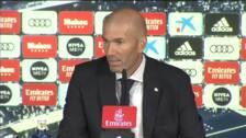 """Zidane: """"Debemos mejorar y trabajamos para eso, paciencia"""""""