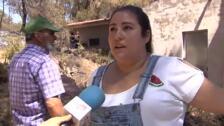 Controlado el incendio forestal de Beneixama, en Alicante