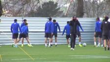 El Athletic sigue preparando el partido contra el Celta