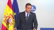 """Sanchez: """"Frente a la sentencia, convivencia"""""""
