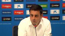 """Gallego sobre el debut de canteranos: """"Si han jugado es porque se lo han ganado"""""""