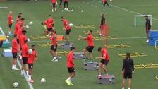 Simeone prepara el partido frente al Leganés