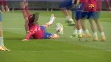 EL Barça continúa preparando la visita del Osasuna